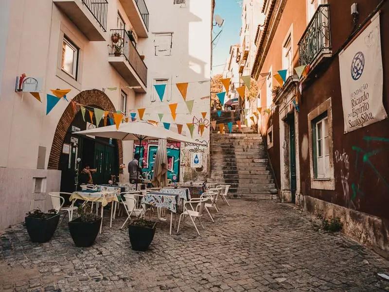 Alfama – Lissabon Sehenswürdigkeiten