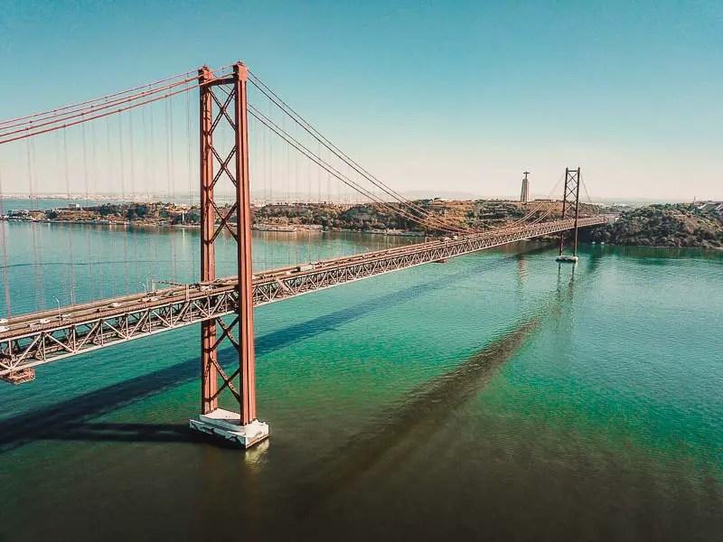 Ponte 25 de Abril – Lissabon Sehenswürdigkeiten