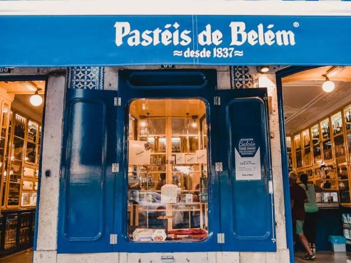 Pasteis de Belem – Lissabon Sehenswürdigkeiten