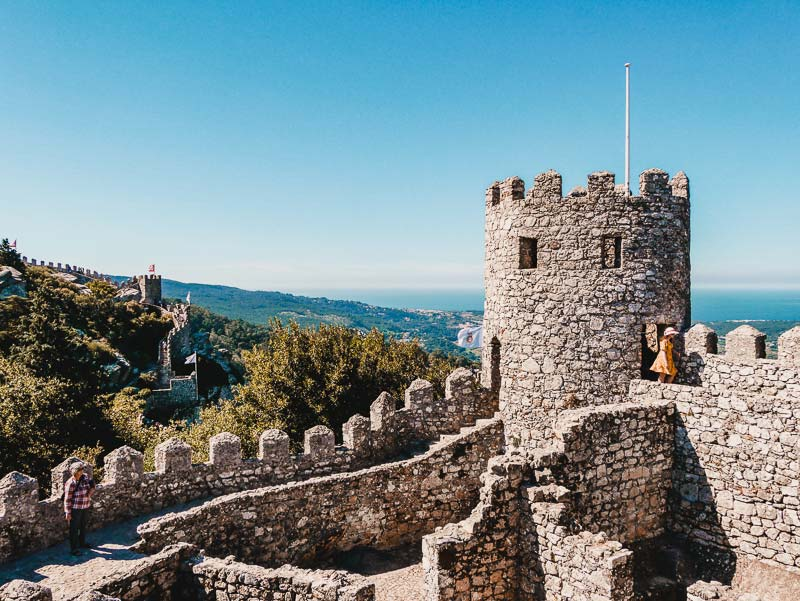Sintra Castelo dos mouros – Lissabon Sehenswürdigkeiten