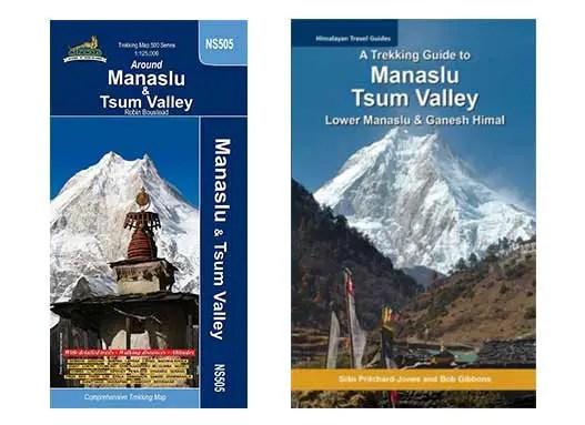 Nepal Trekking – Manaslu Circuit Karte