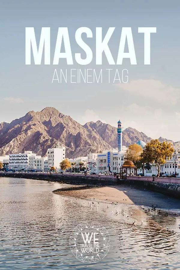 Die besten Maskat Sehenswürdigkeiten & Reisetipps – an einem Tag #reiseziele #oman #muscat #inspiration
