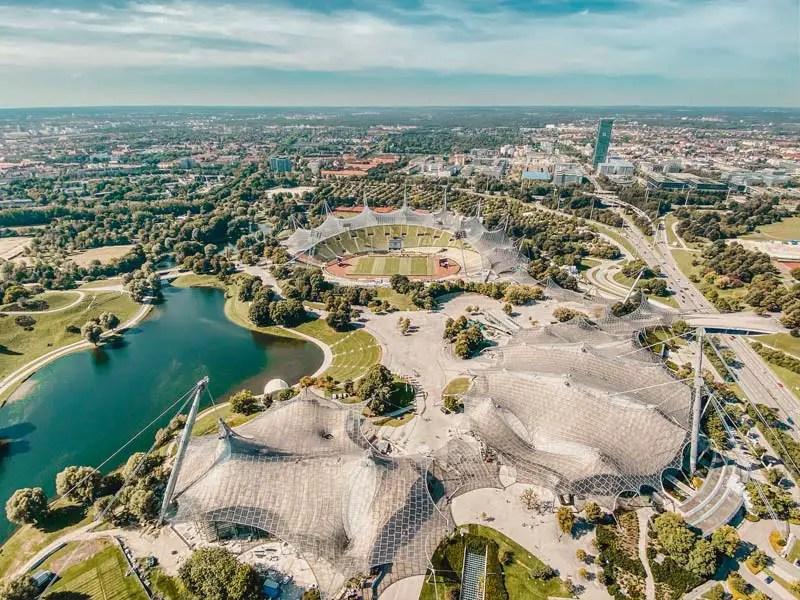 Olympiapark Dachtour