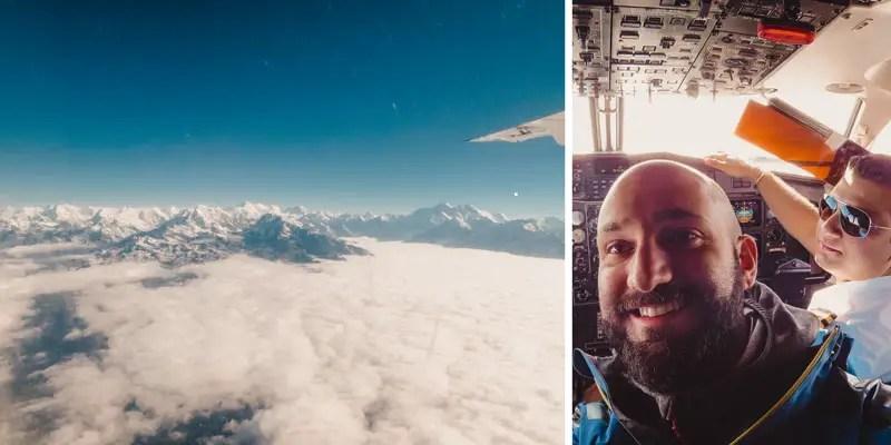 Mount Everest Rundflug Nepal - Nepal Sehenswürdigkeiten