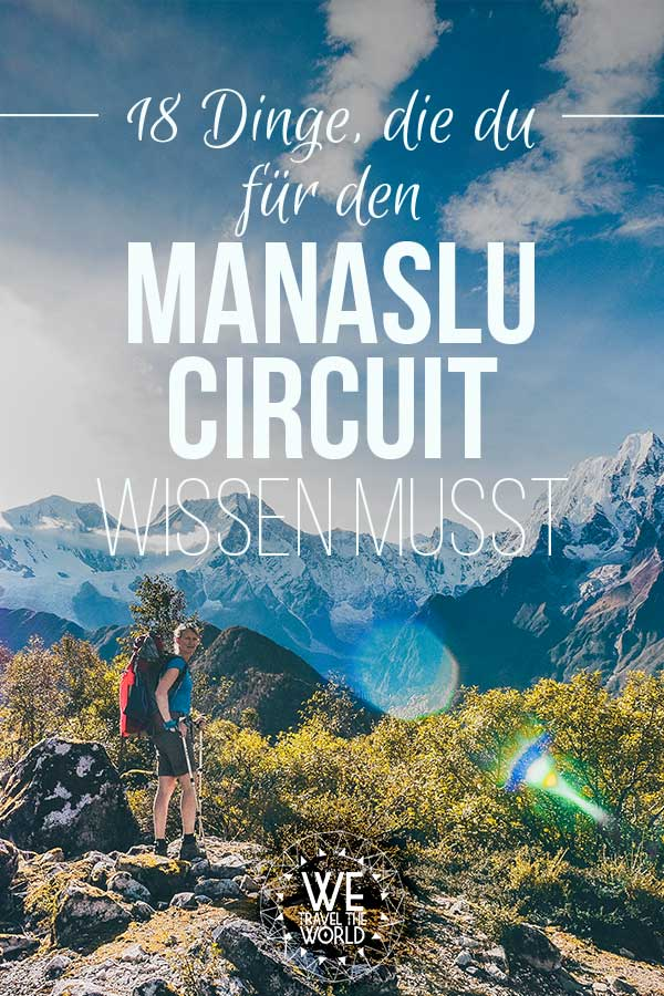 Nepal Trekking: Alles was du für den Manaslu Circuit wissen musst.