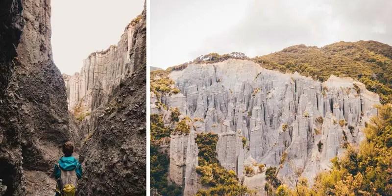 Neuseeland Nordinsel Highlights Putangirua Pinnacles