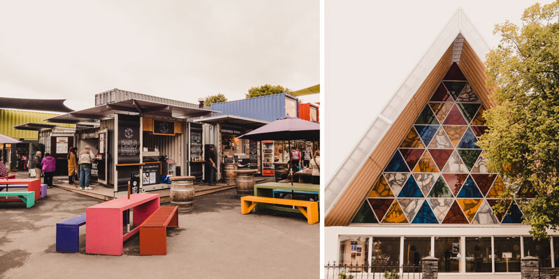 Neuseeland Südinsel Highlights Christchurch