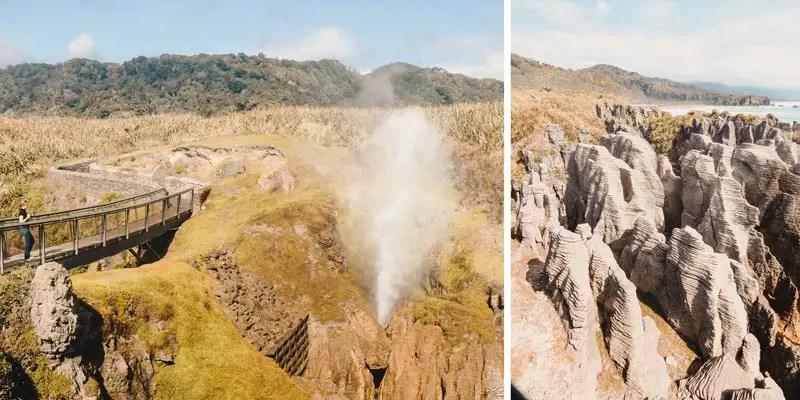 Neuseeland Südinsel Highlights Pancake Rocks