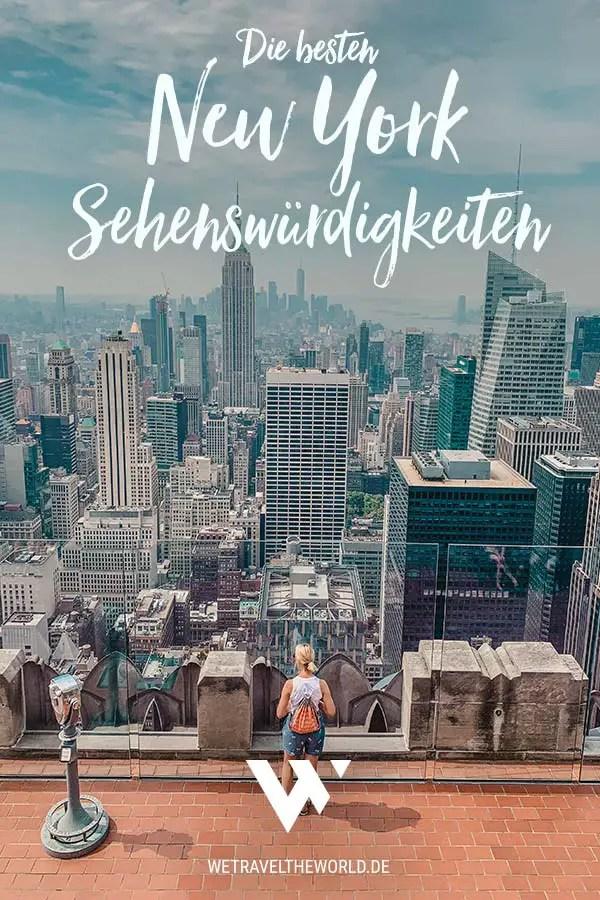 Die besten New York Sehenswürdigkeiten, Tipps & Highlights #usa #reiseziele #staedtetrip #nyc