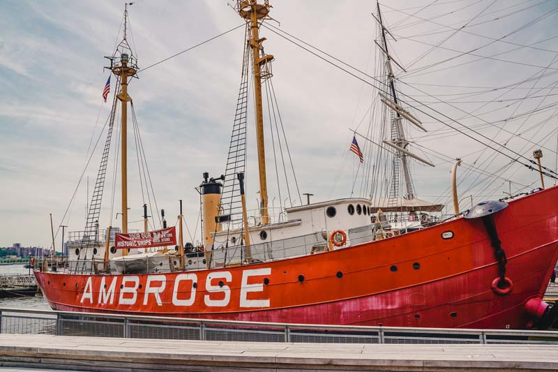 South Street Seaport – New York Sehenswürdigkeiten