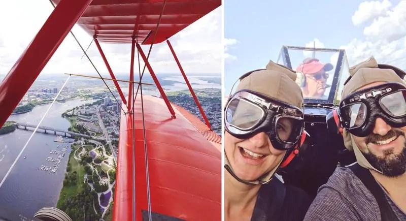 Biplane Tour Ottawa Sehenswürdigkeiten