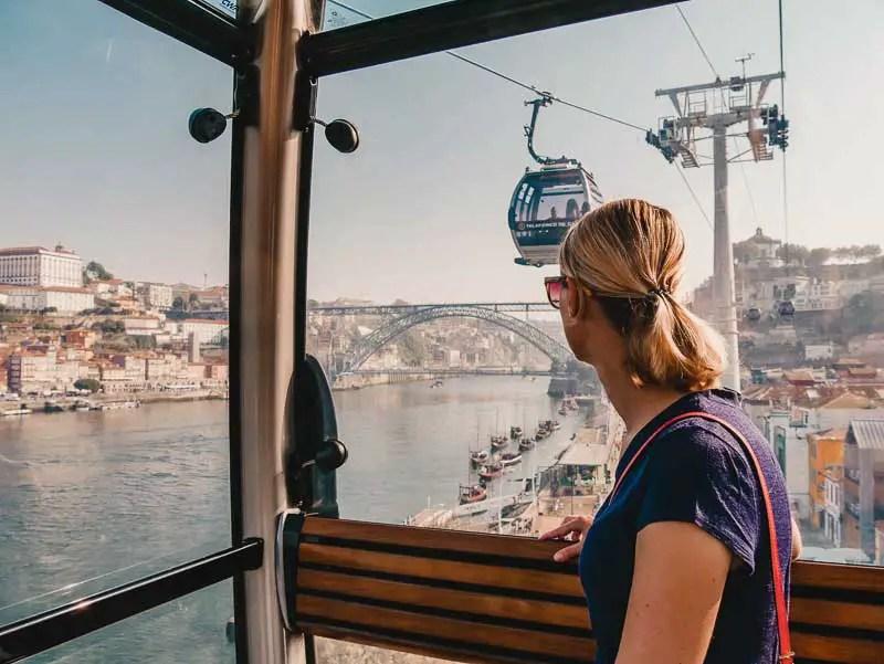Teleferico de Gaia – Porto Sehenswürdigkeiten, Reisetipps & Highlights