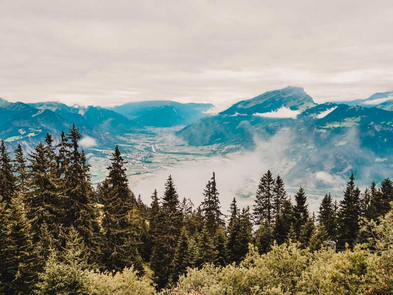 Prättigauer Höhenweg Älplibahn