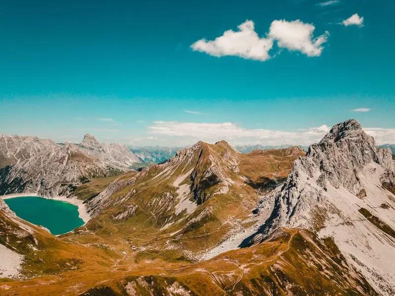 Lünersee Prättigauer Höhenweg