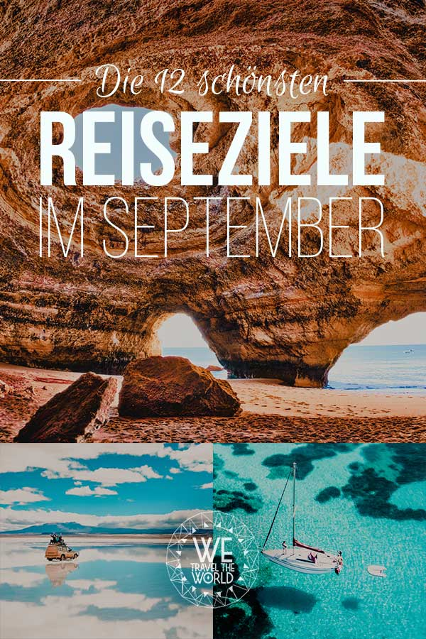 Reiseziele September: Die 12 besten Reiseziele im September 2018 – für Abenteuer & Outdoor Fans #reiseziele #reisetipps #reiseinspiration