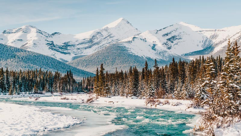 Reiseziele im Februar Kanada