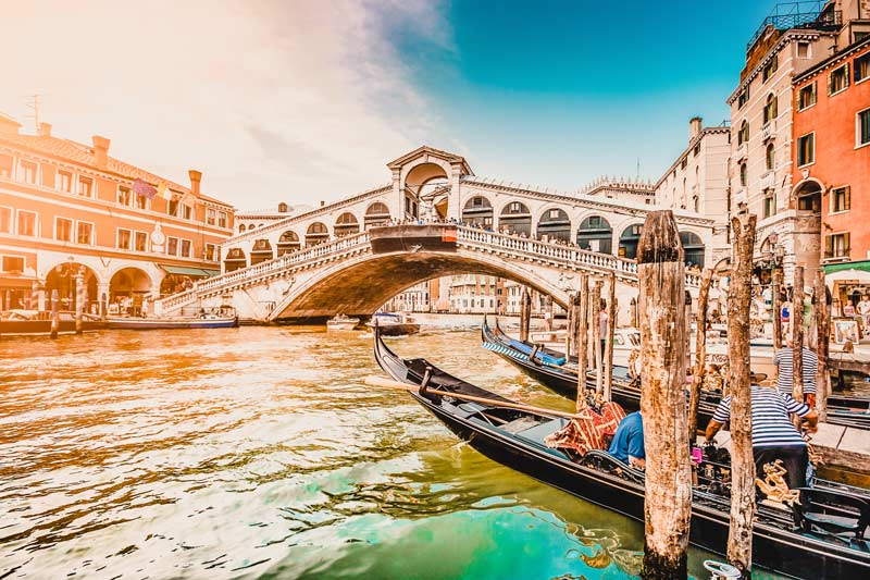 Reiseziele im Februar Venedig