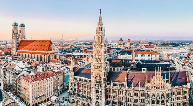 Reiseziele März München