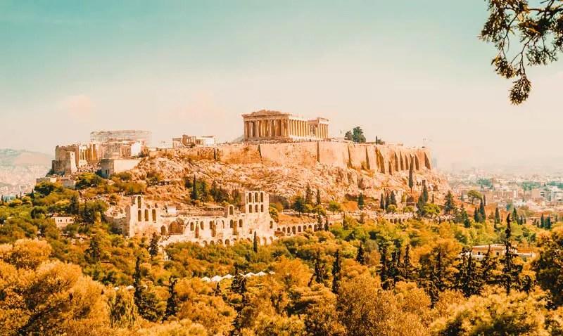 Reiseziele Oktober Griechenland Athen