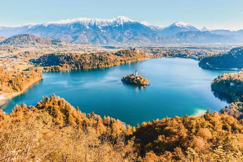 Reiseziele September Slowenien