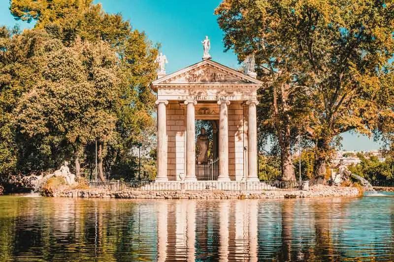 Rom Sehenswürdigkeiten Villa Borghese