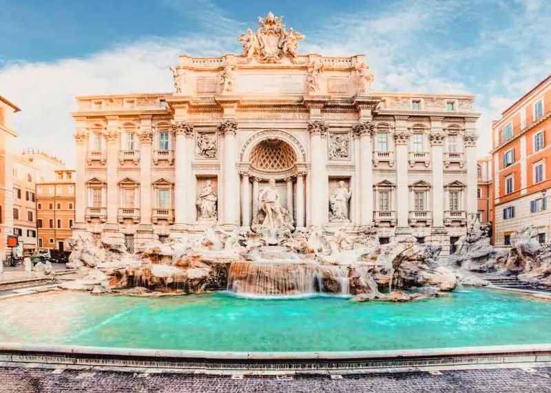 Rom Sehenswürdigkeiten Trevi Brunnen
