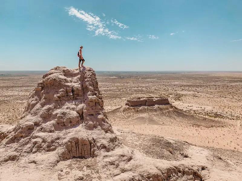 Ayaz Kale – Usbekistan Wüste