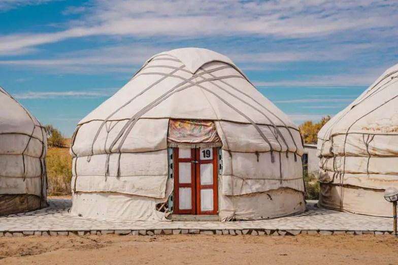 Aydarsee Yurtcamp – Usbekistan Wüste