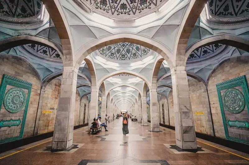 Tashkent Metro - Oezbekistan Round Trip - Oezbekistan Aantrekkelijkheden