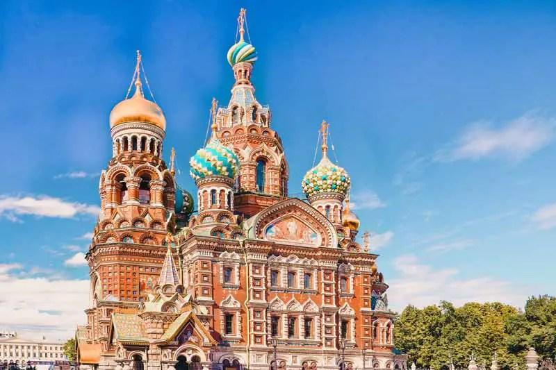 Russland Highlight Auferstehungskirche