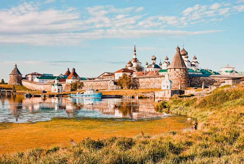 Russland Highlight Solowezki Inseln