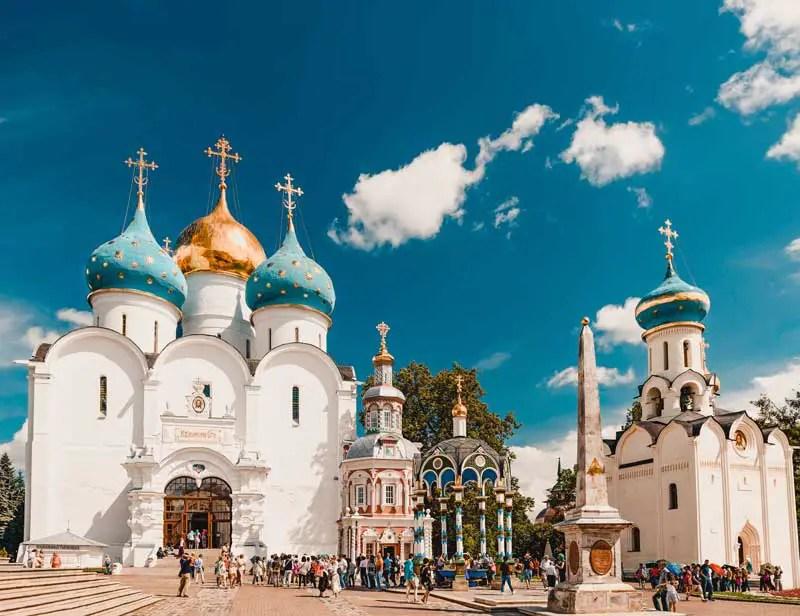 Russland Dreifaltigkeitskloster des Heiligen Sergijus