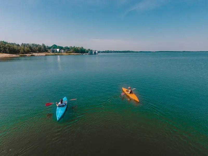 Saksen Attracties Geierswalder See Kayak