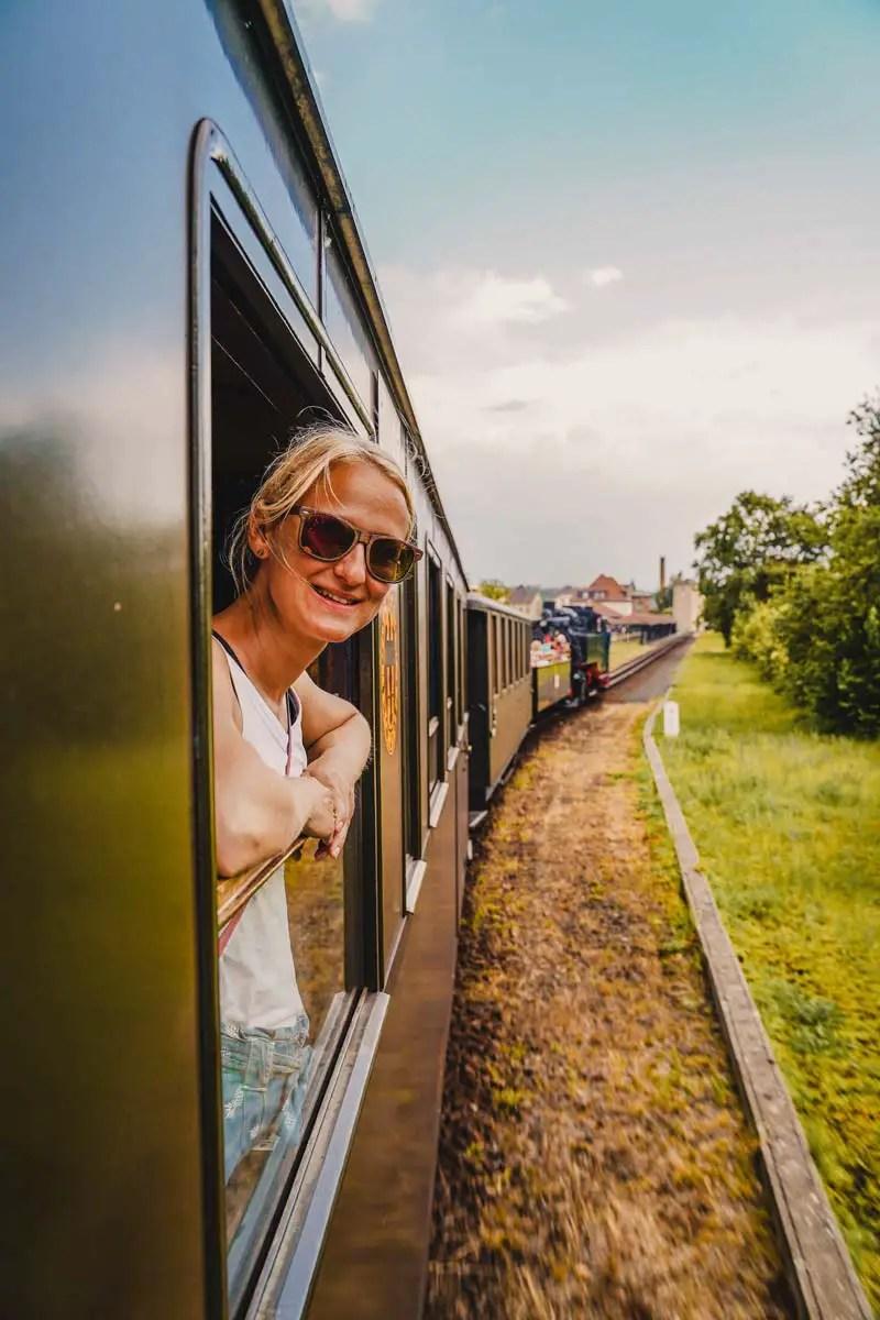Saksen attracties smalspoorlijn