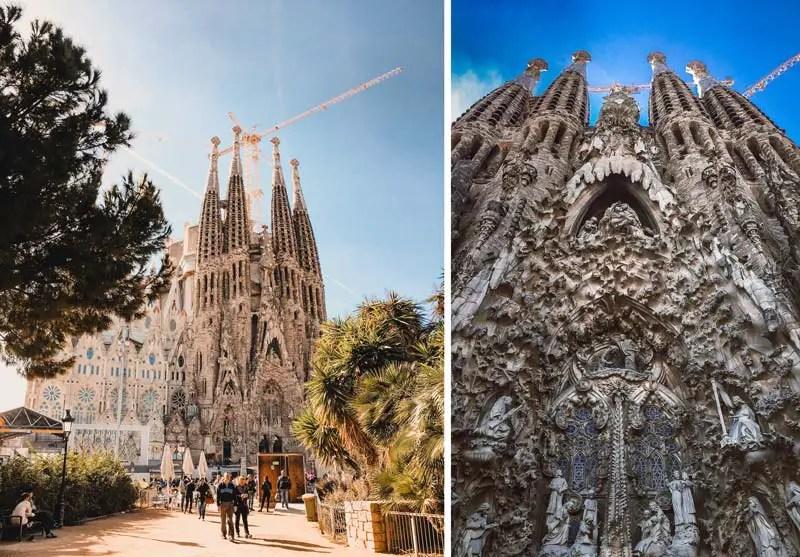 Sagrada Familia Reiseführer Sagrada Familia von aussen
