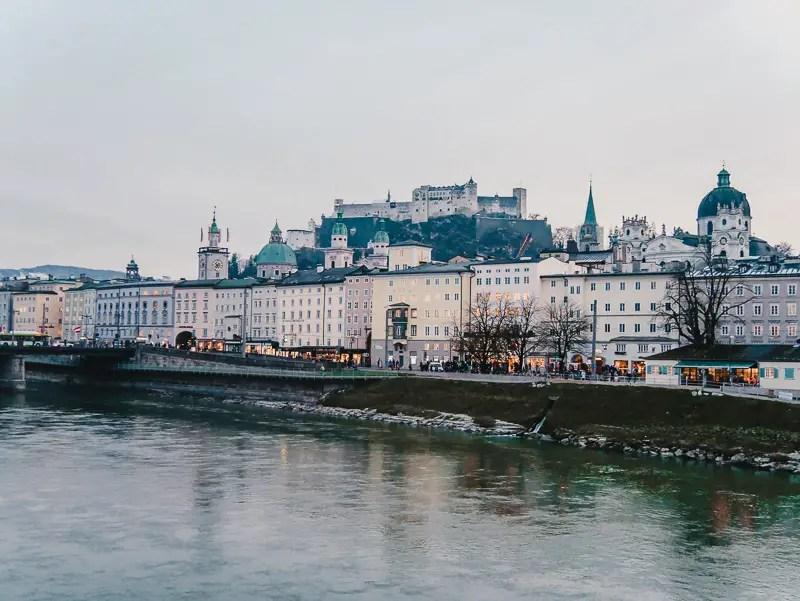 Salzburg Sehenswürdigkeiten im Winter