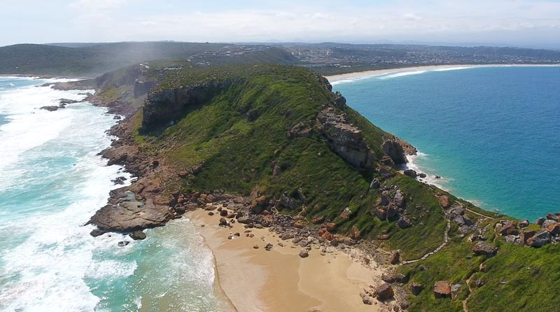 robberg nature reserve drone