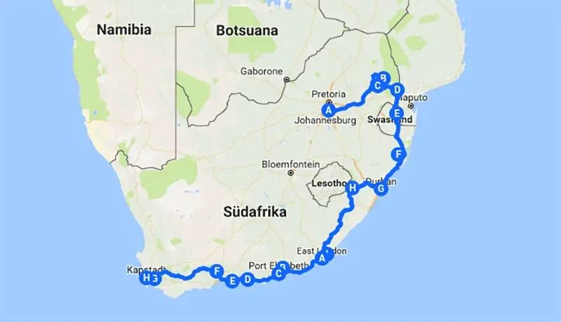 sunniestway_route