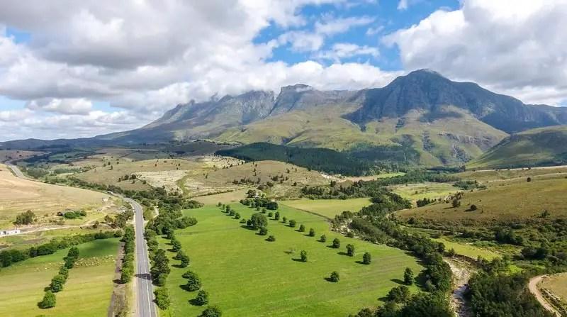Blick auf Swellendam – Südafrika Sehenswürdigkeiten