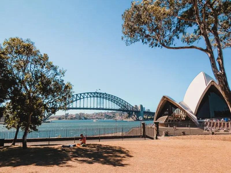 Sydney Sehenswürdigkeiten Royal Botanic Gardens