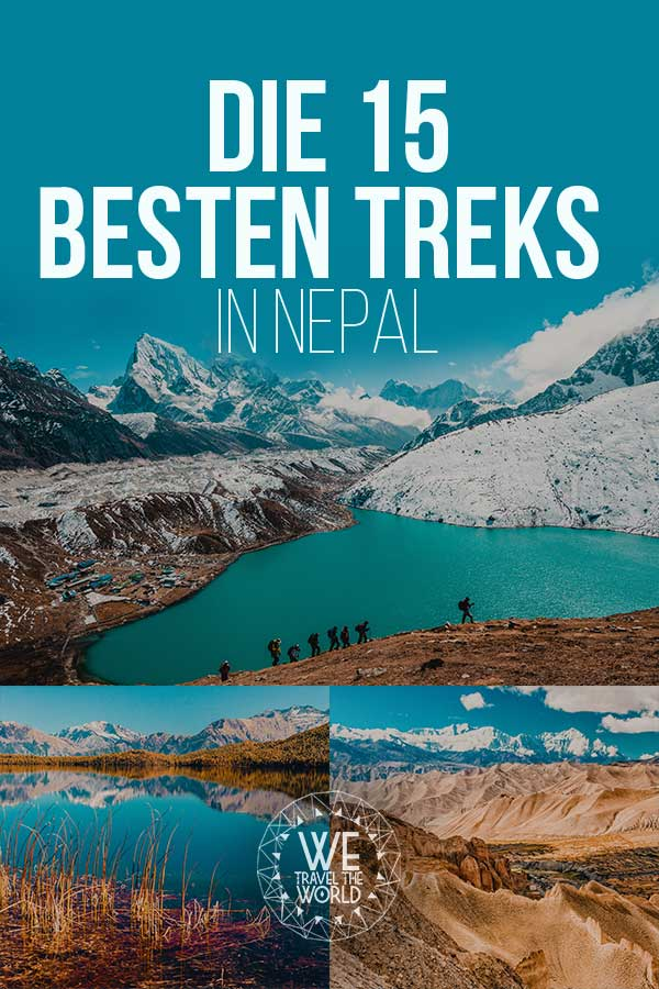 Trekking in Nepal – Die 15 besten Treks in Nepal mit Reisetipps #trekking #nepal #inspiration #reiseziele #wandern #himalaya