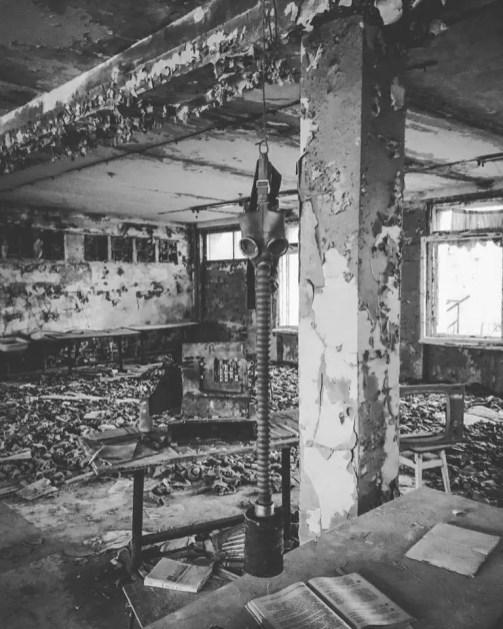 Tschernobyl Todeszone – Verlassene Gebäude Tschernobyl