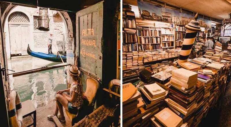 Venedig Geheimtipp Libreria Acqua Alta