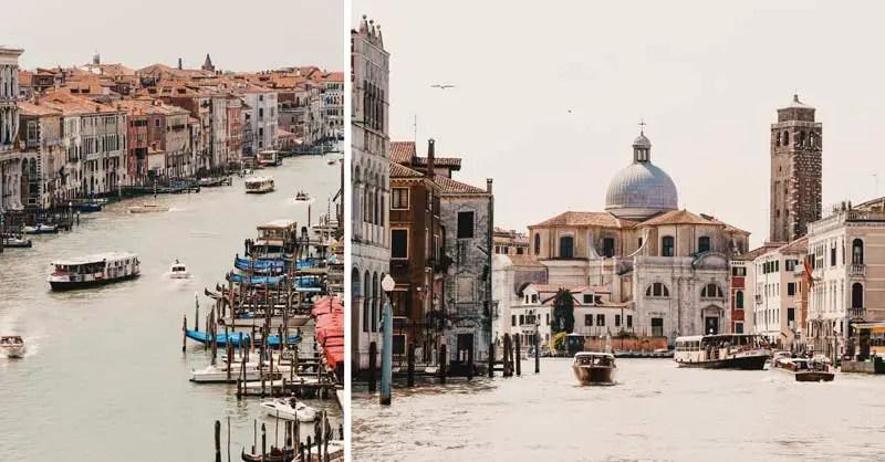 Venedig Sehenswürdigkeiten Canal Grande