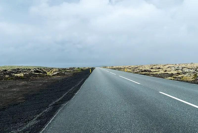 way to reykjavik from kleifarvatn
