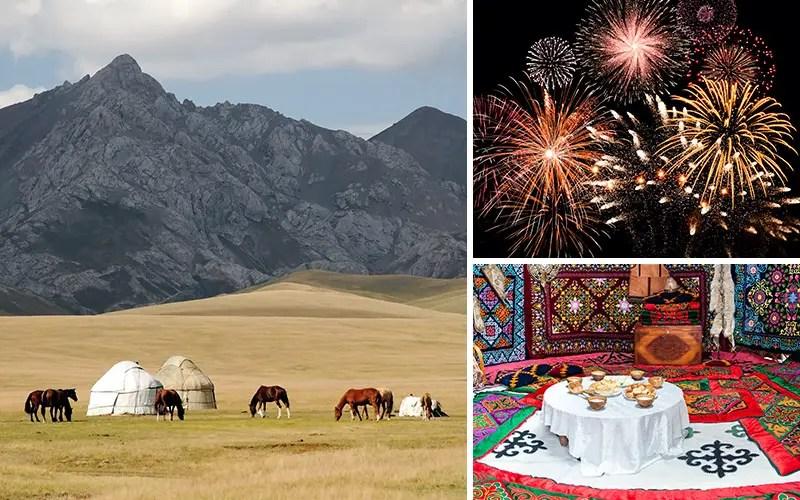 weihnachten kirgisistan kirgistan