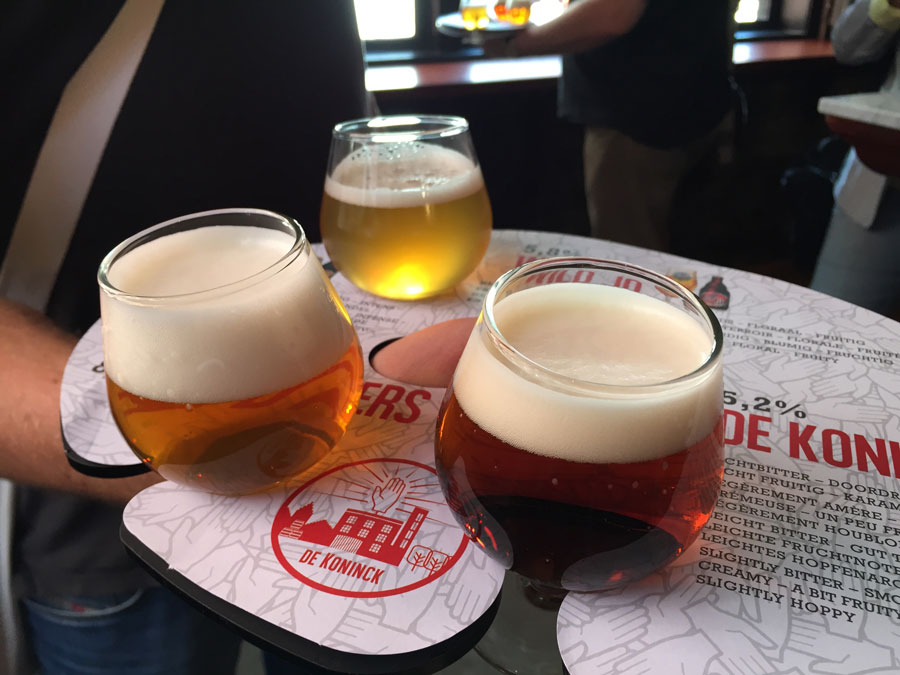 belgisches bier de-koninck