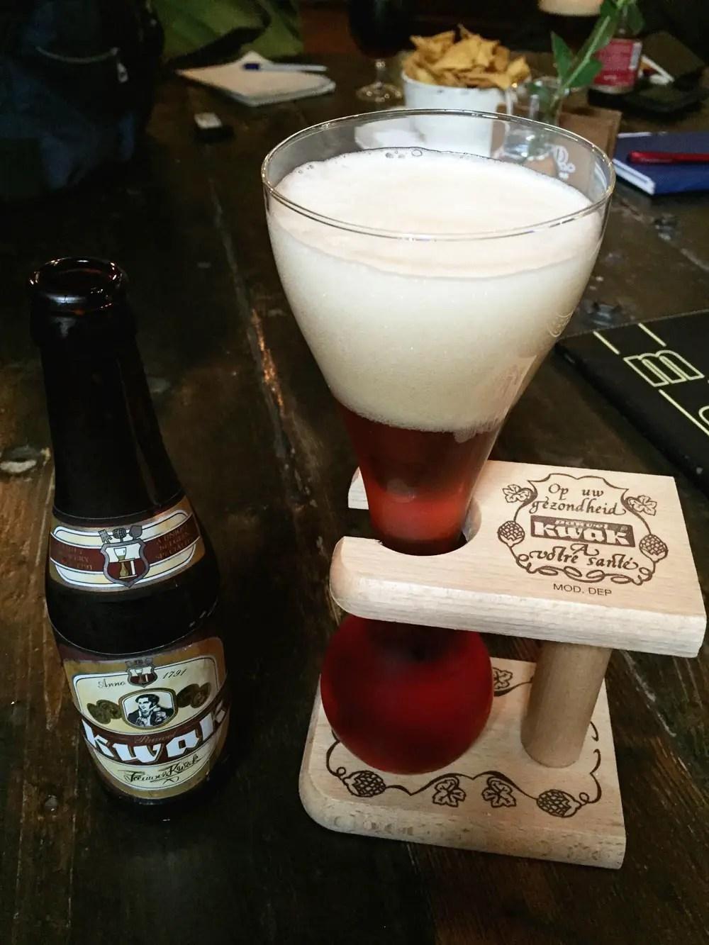 belgisches bier kwak