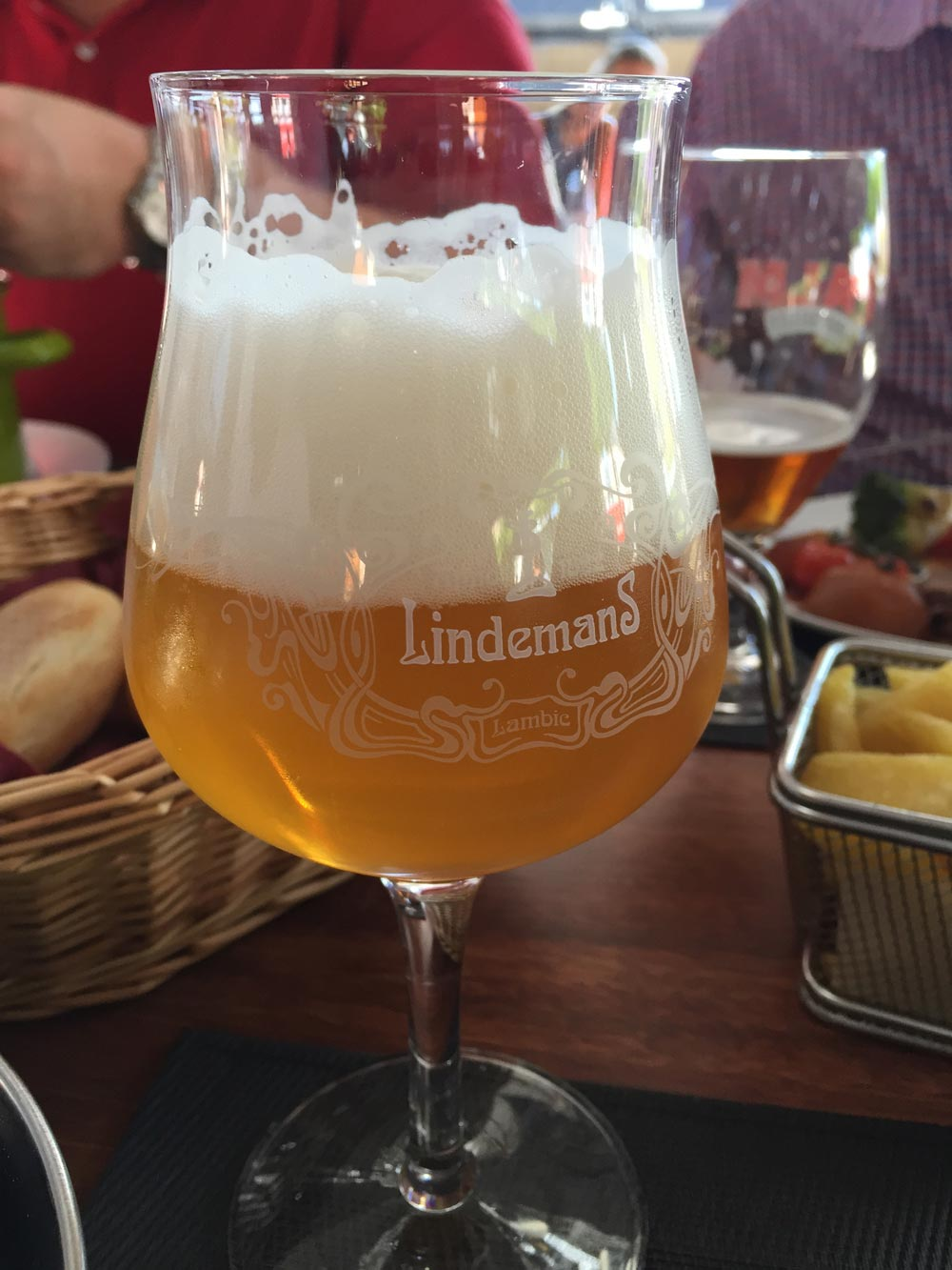belgisches bier lindemans lambic apple