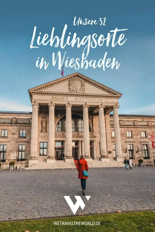 Wiesbaden Sehenswürdigkeiten: Wir nehmen dich mit auf Städtereise nach Wiesbaden und zeigen dir unsere Lieblingsorte #deutschland #städtetrip #reiseinspiration
